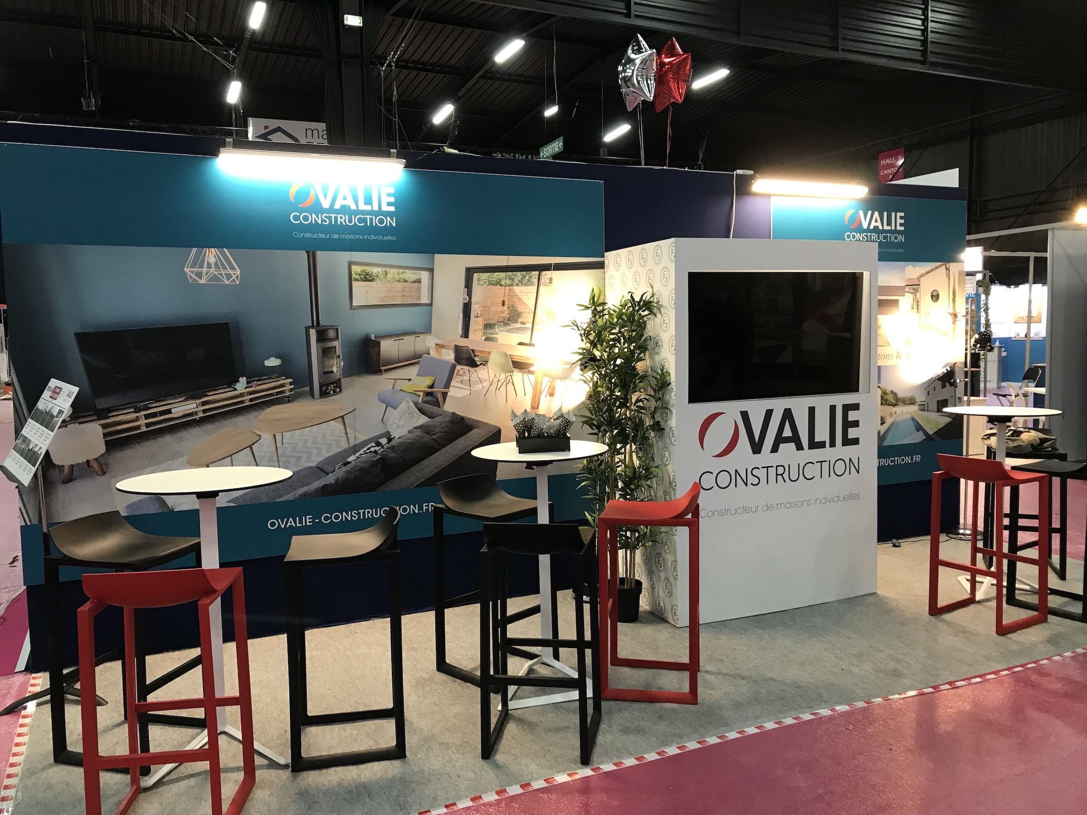 Stand Ovalie Salon Immobilier